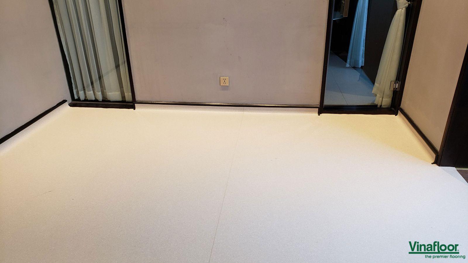 sàn vinyl kháng khuẩn cho thẩm mỹ viện Lavish