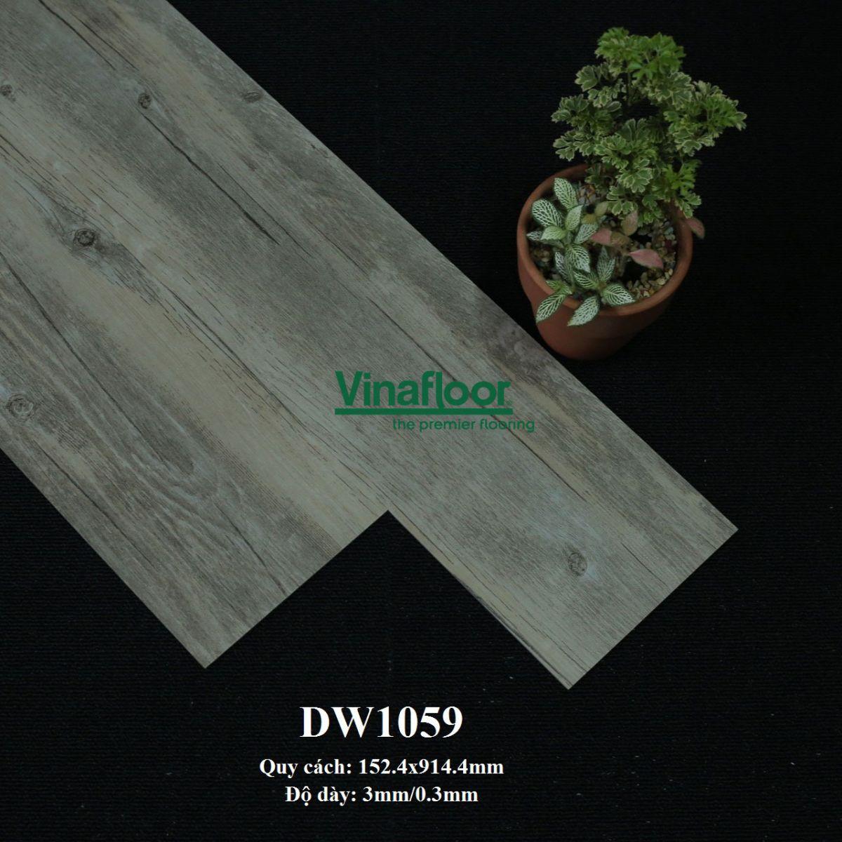 sàn nhựa giả gỗ deluxe tile DLW1059