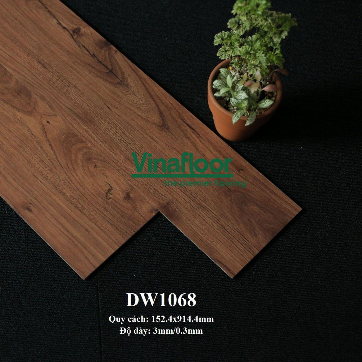sàn nhựa giả gỗ deluxe tile DLW1068