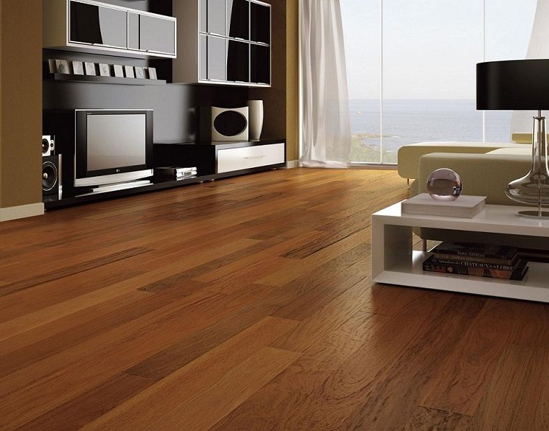 Sàn nhựa giả gỗ được nhiều biệt thự ưu tiên lựa chọn